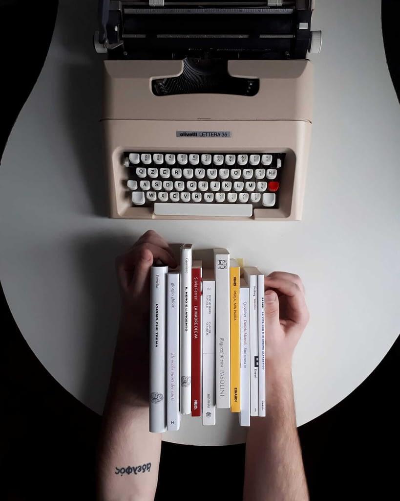 Dieci piccoli libri - Mattia Tortelli